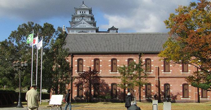 今日の姫路城老人大学5