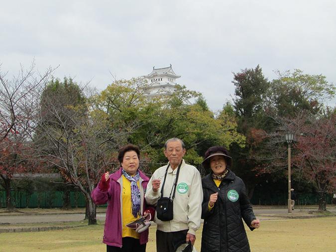 今日の姫路城姫路市生涯クラブ2